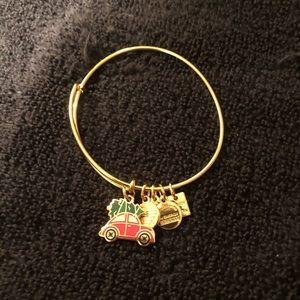 Alex & Ani Christmas Bracelet